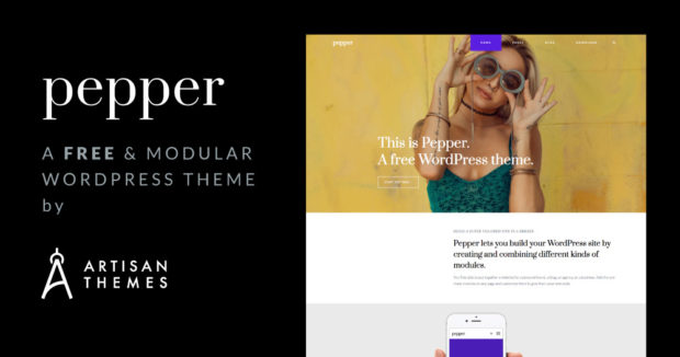 We're Launching Pepper: A Free Modular WordPress Theme