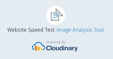 Website Speed Test by Cloudinary