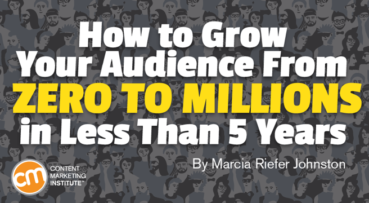 How to Grow Your Audience From Zero to Millions in Less Than 5 Years