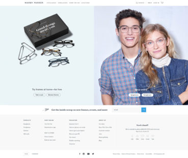 Website Header Design: 44 Cool Examples and What Makes Them Good