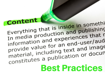 Five Best Practices for Start-Up Content Marketing