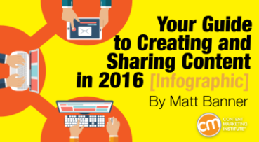 Don't only create content; Share it