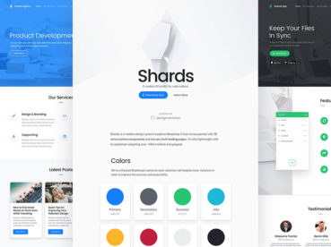 Shards – help to cover almost any type of interface requirements