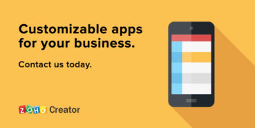 Create Low-Code Apps with Zoho Creator